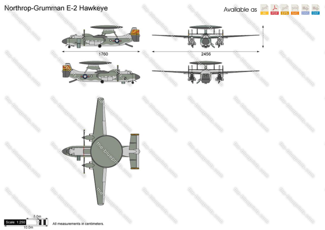 Northrop-Grumman E-2 Hawkeye