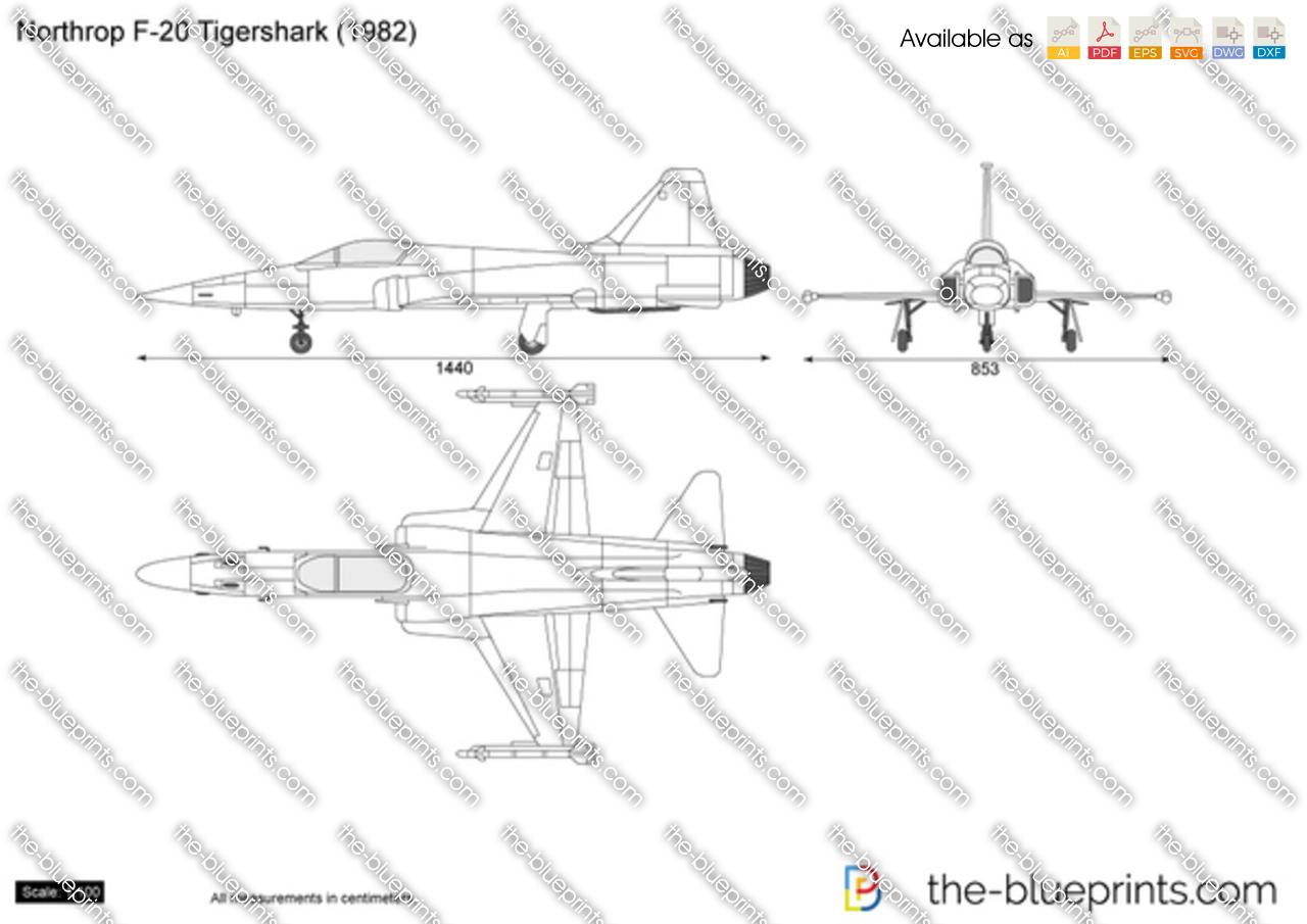 Northrop F-20 Tigershark