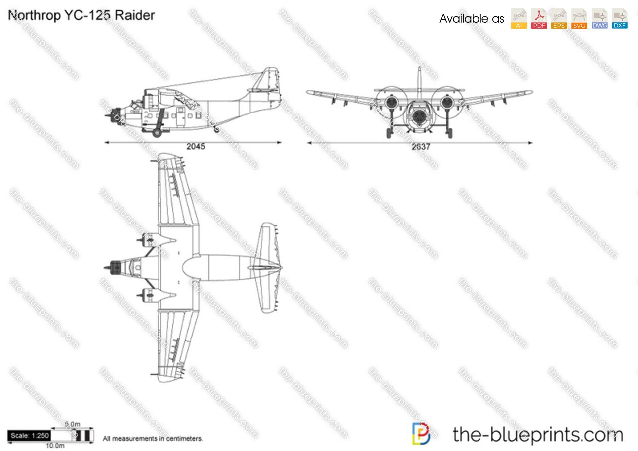 Northrop YC-125 Raider