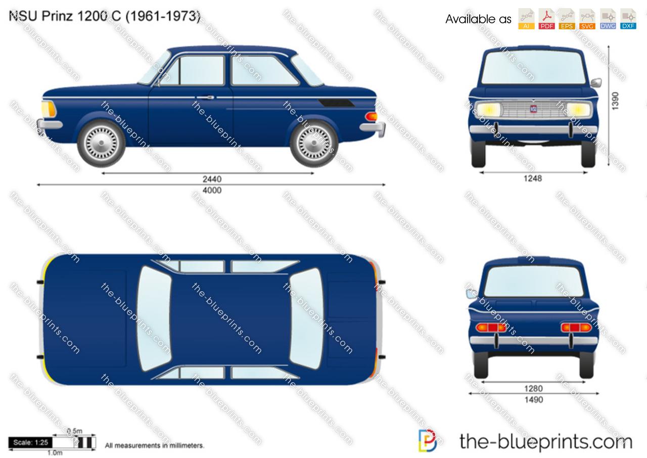 NSU Prinz 1200 C
