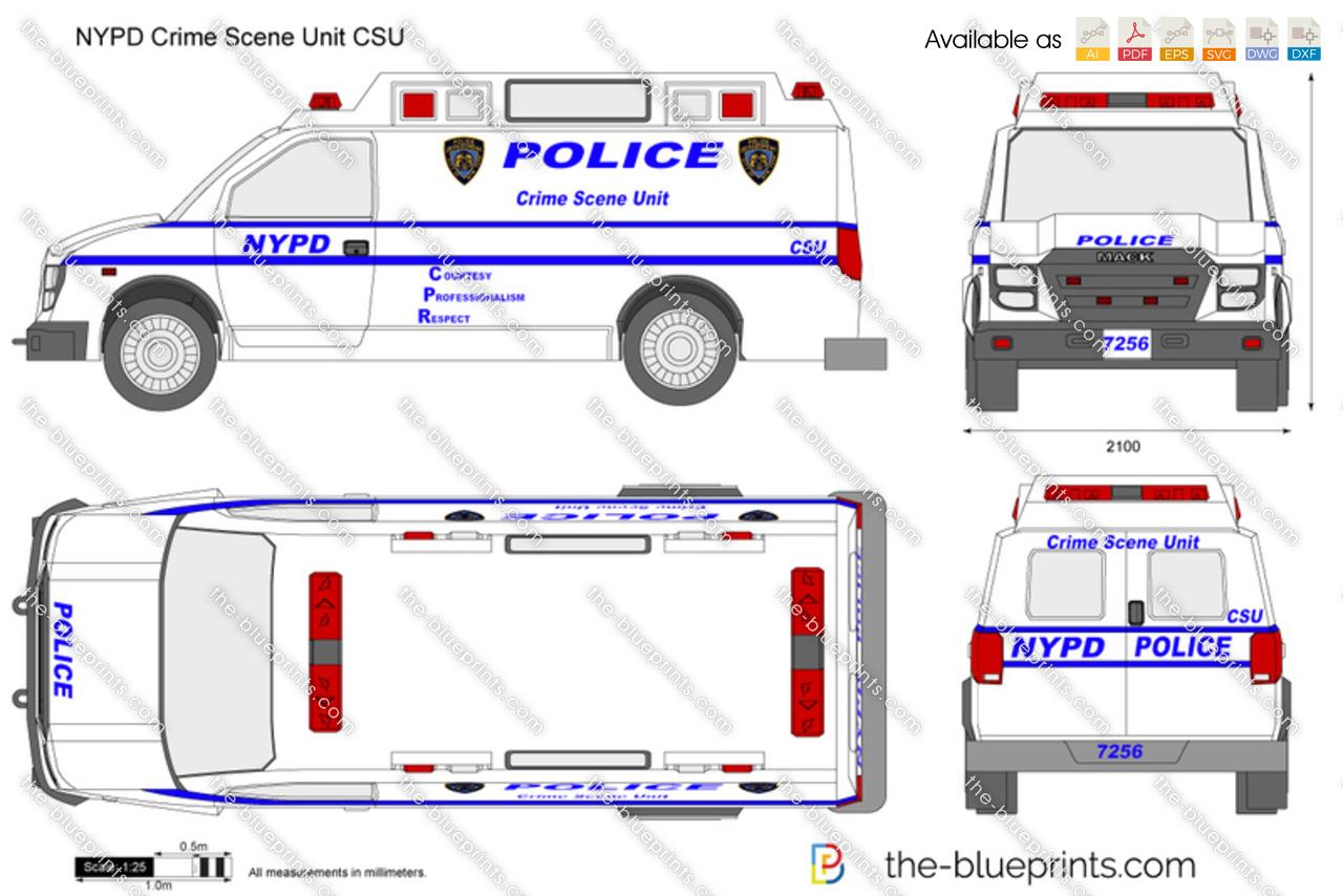 NYPD Crime Scene Unit CSU