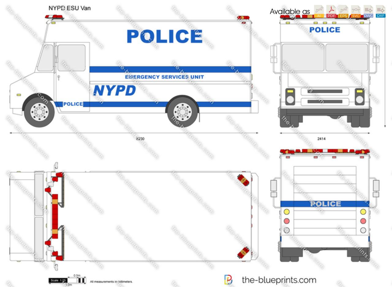 NYPD ESU Van