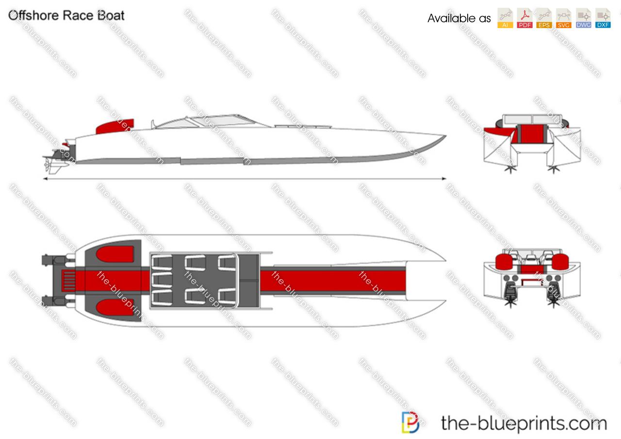 Offshore Race Boat