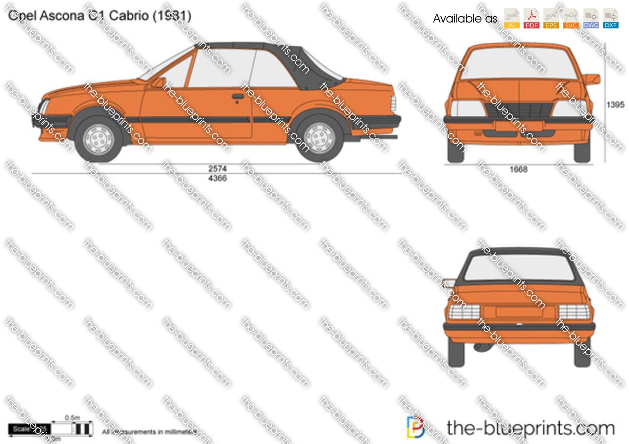 Opel Ascona C1 Cabrio
