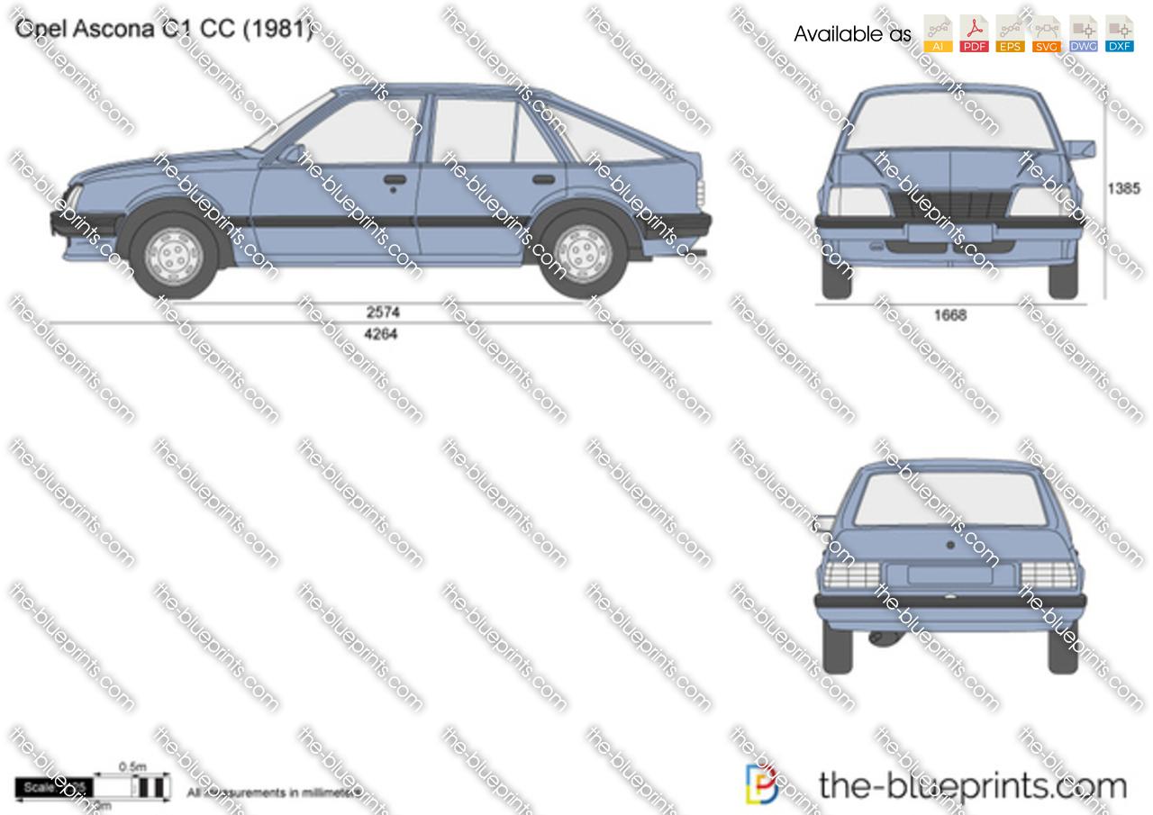 Opel Ascona C1 CC
