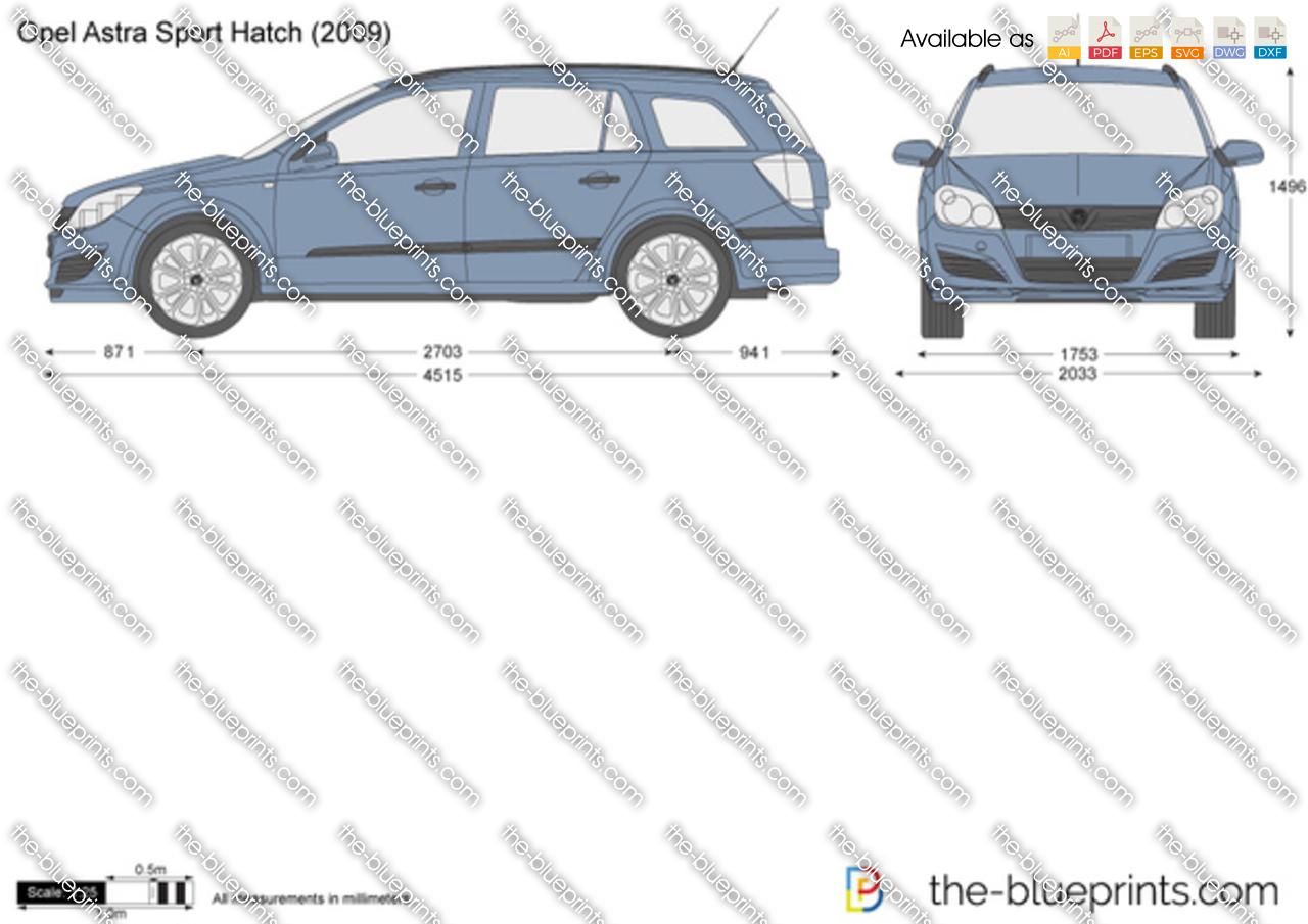 Opel Astra H Sport Hatch