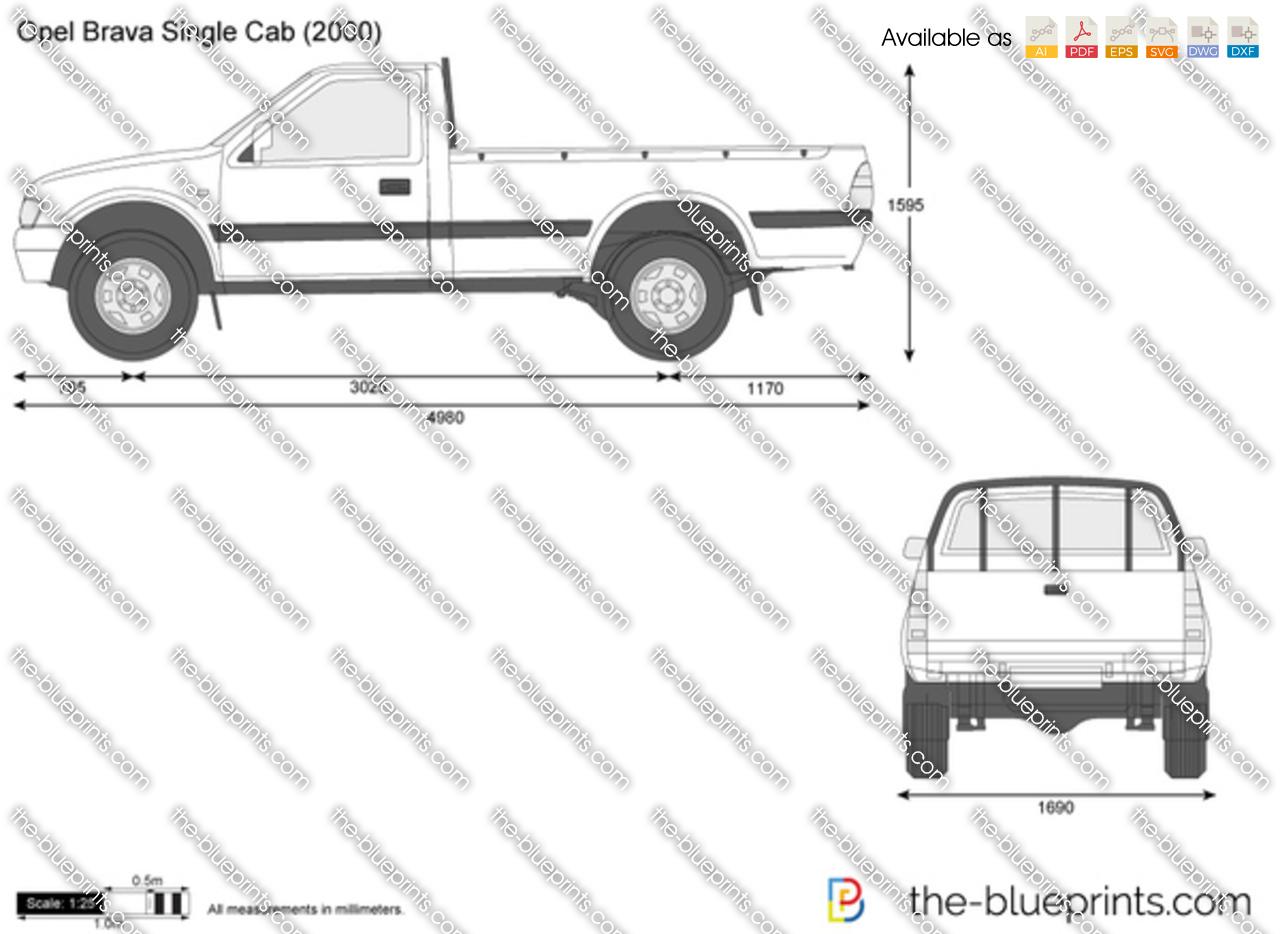 Opel Brava Single Cab