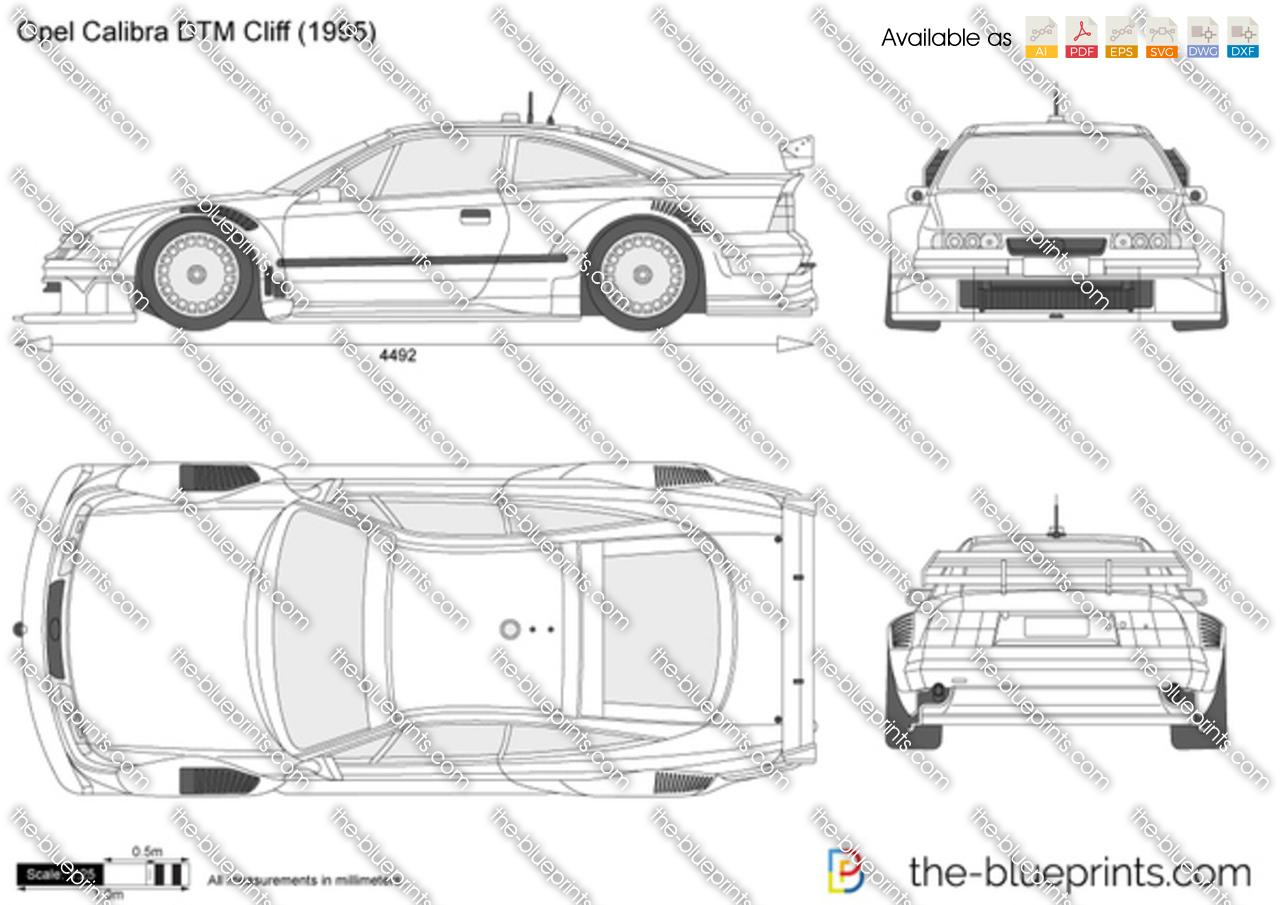 Opel Calibra DTM Cliff