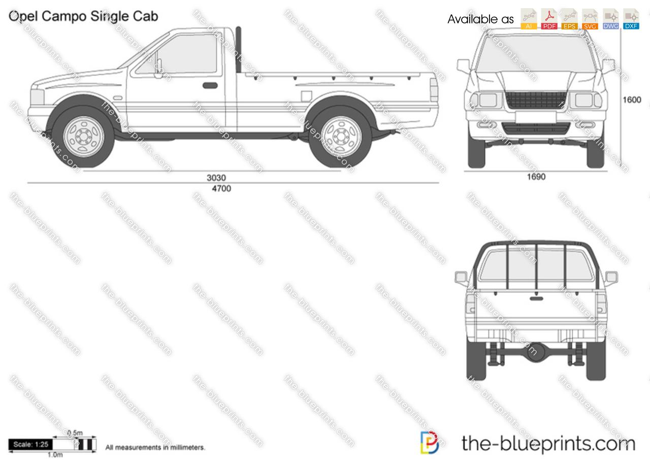 Opel Campo Single Cab