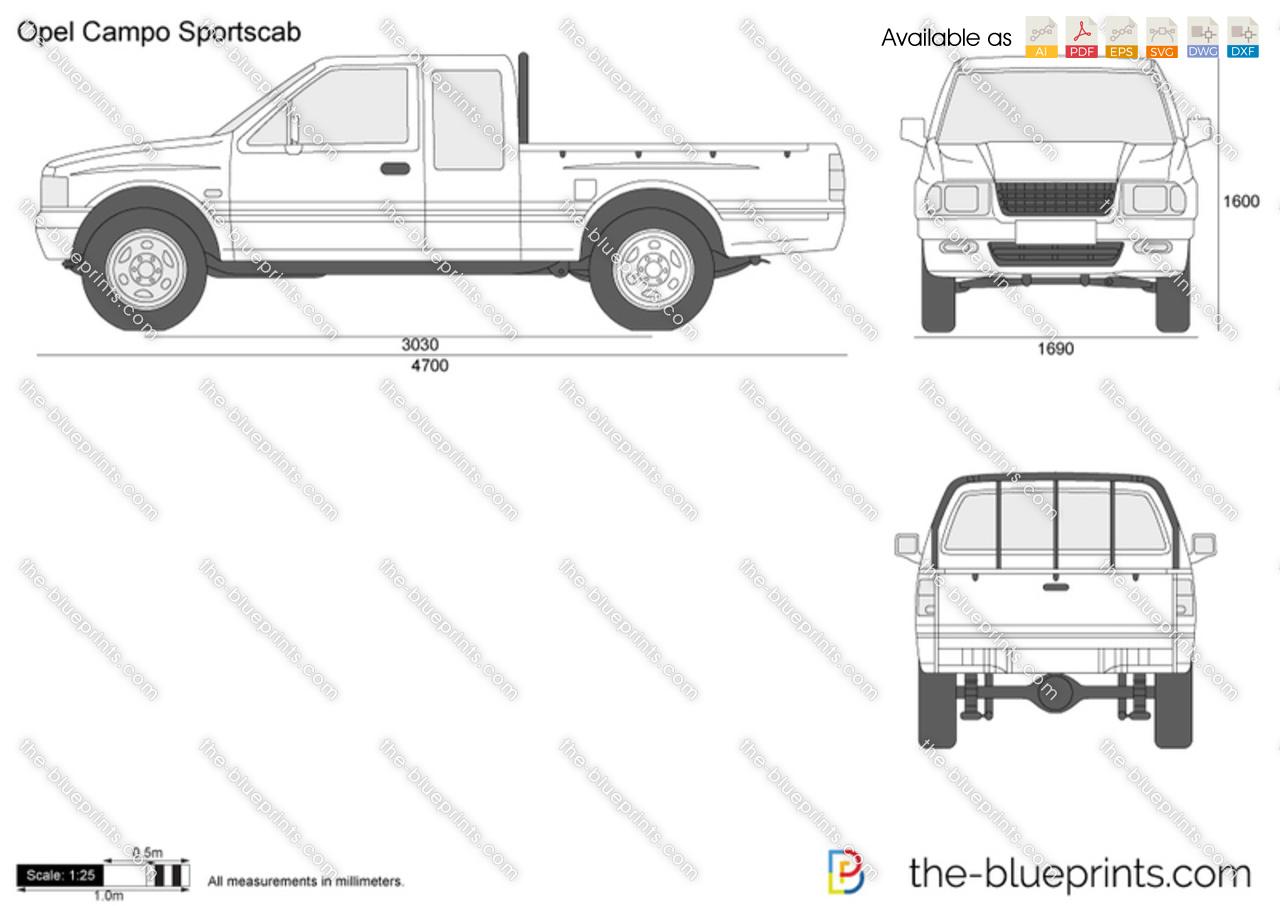 Opel Campo Sportscab