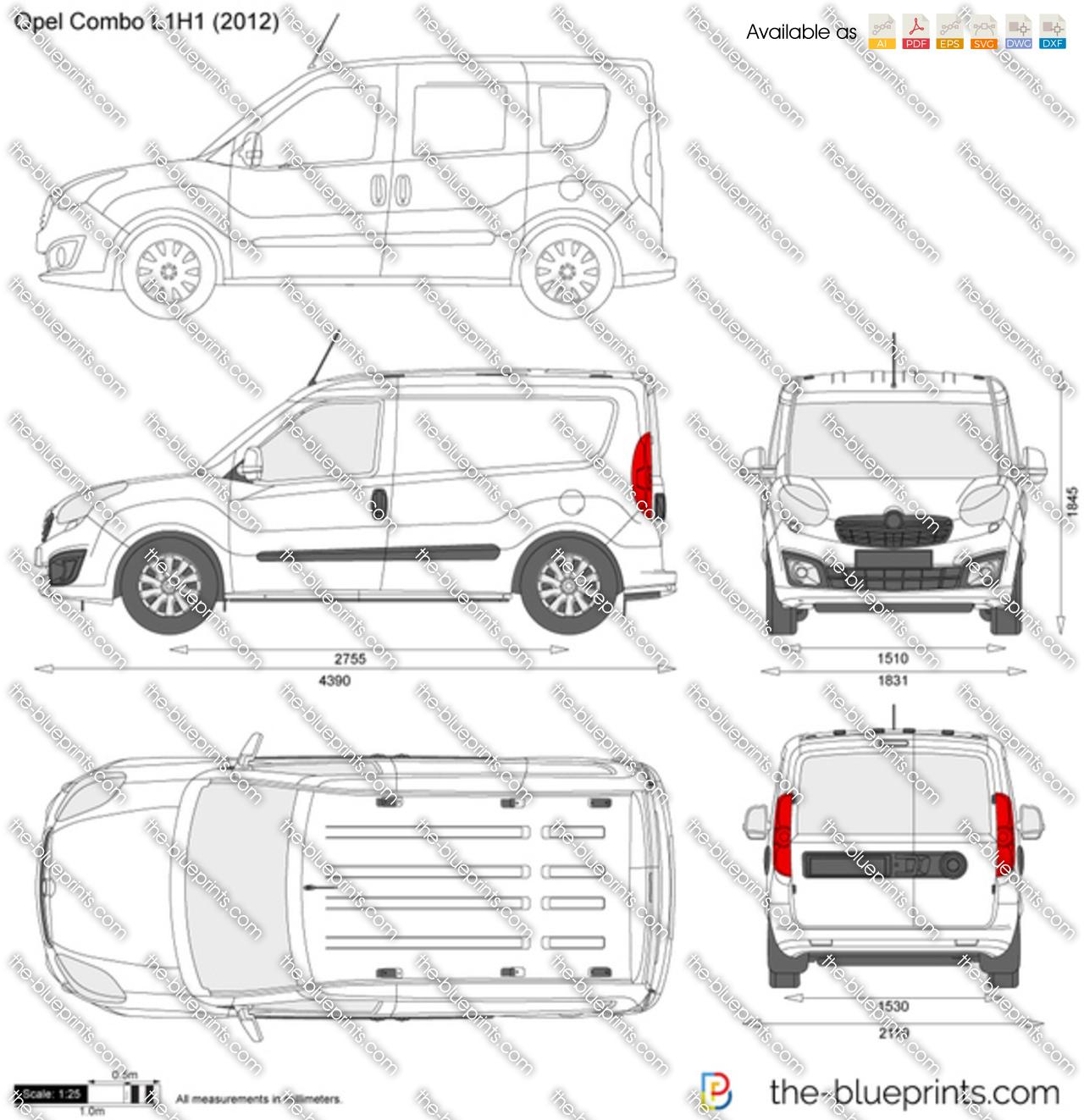 Opel Combo D L1H1 2014