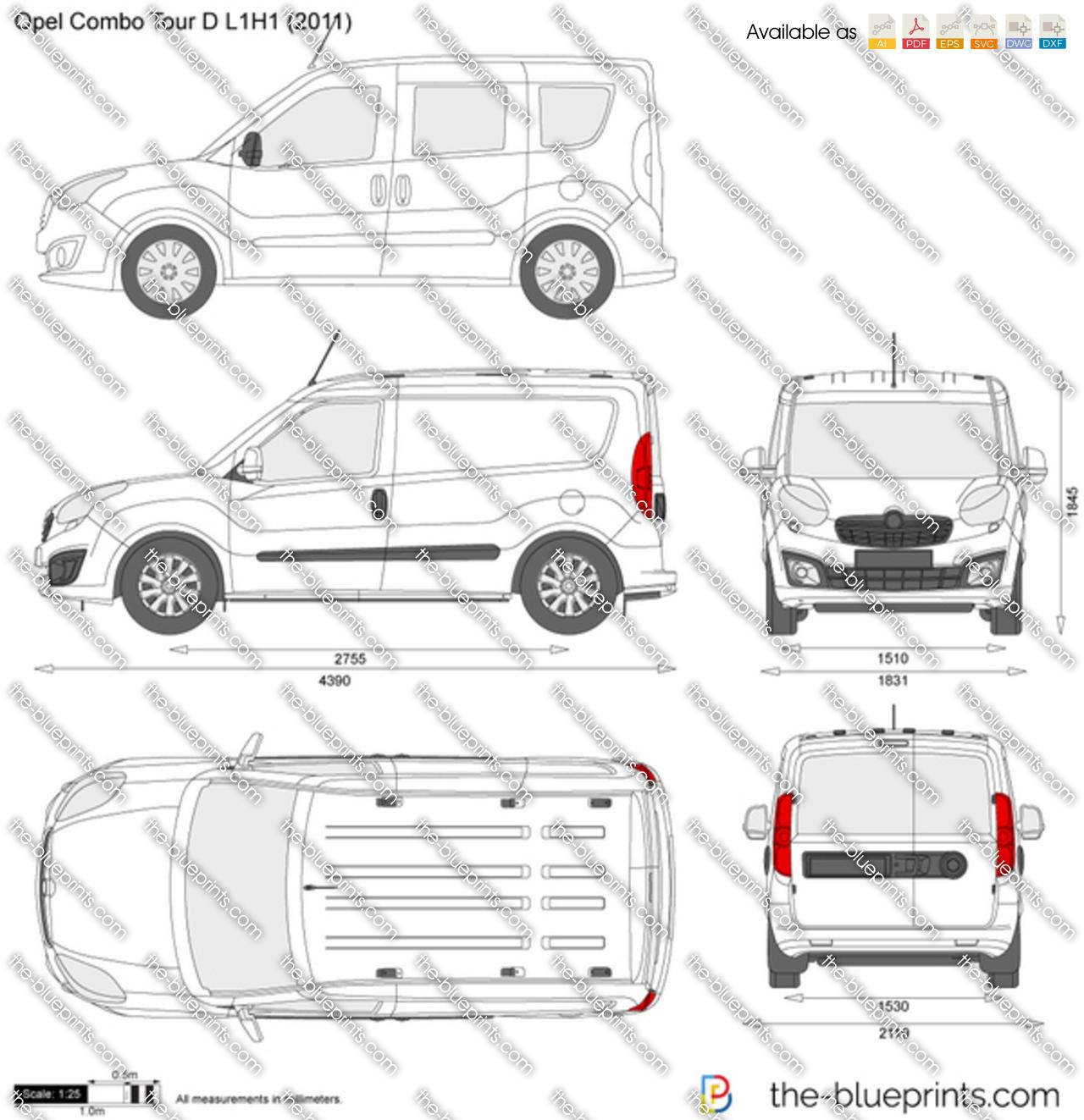 Opel Combo Tour D L1H1