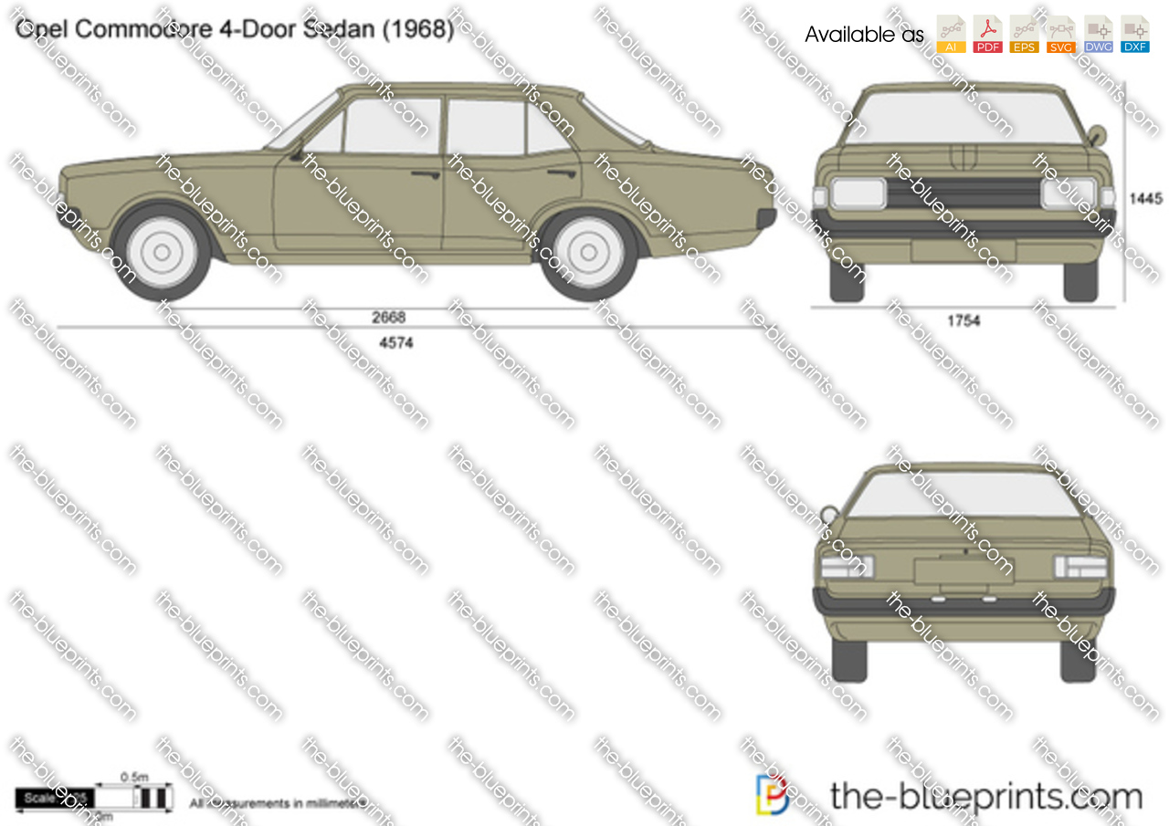 Opel Commodore 4-Door Sedan