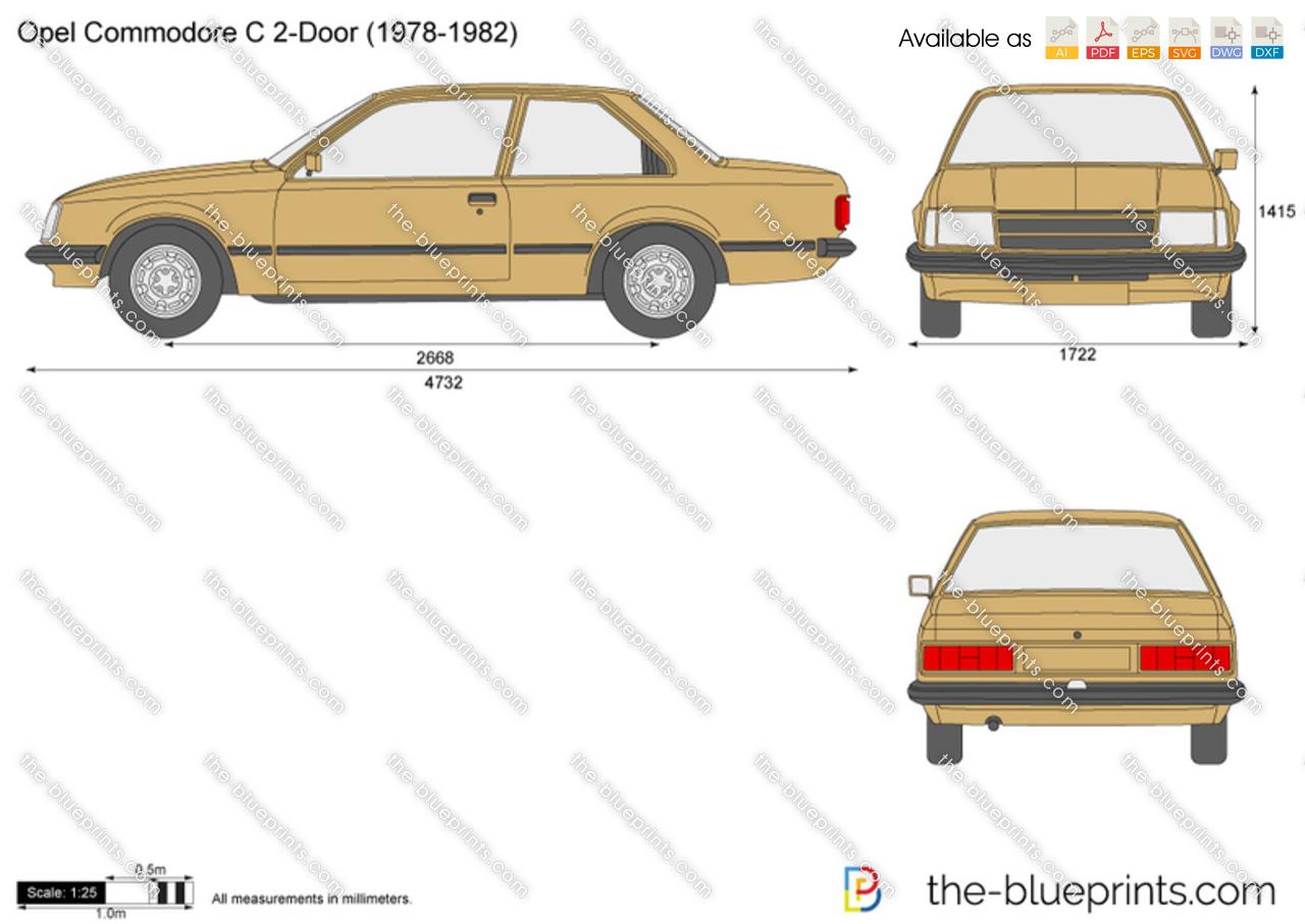 Opel Commodore C 2-Door
