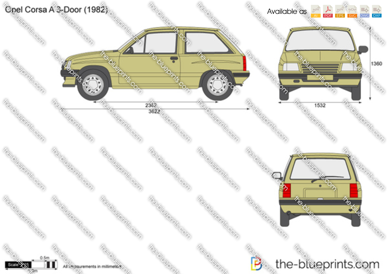 Opel Corsa A 3-Door 1989