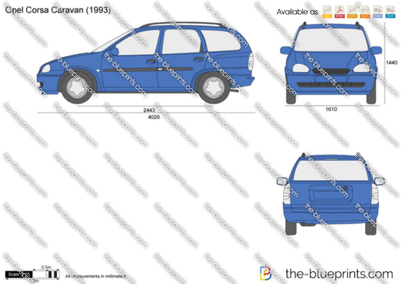 Opel Corsa B Caravan