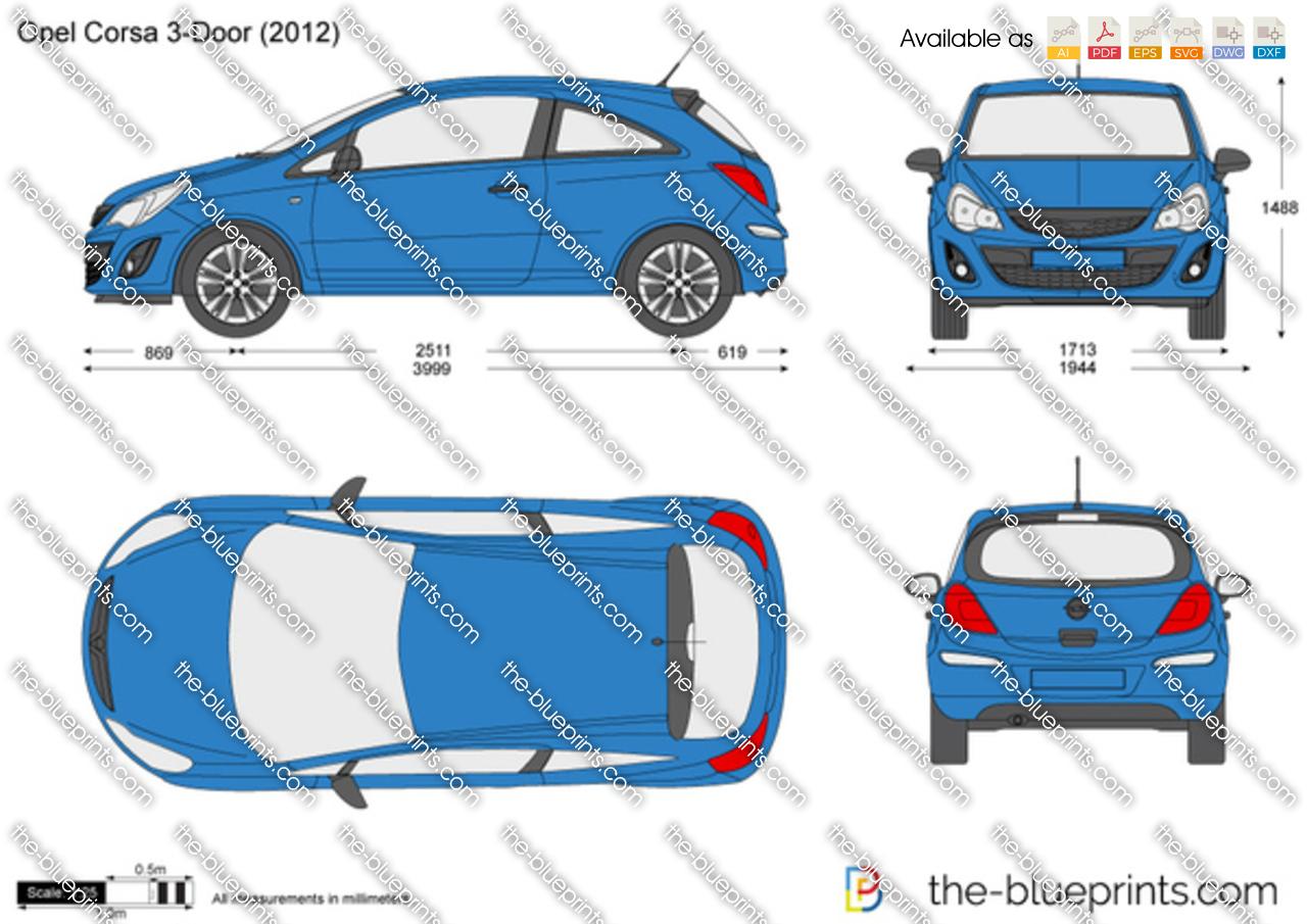 Opel Corsa D 3-Door 2011