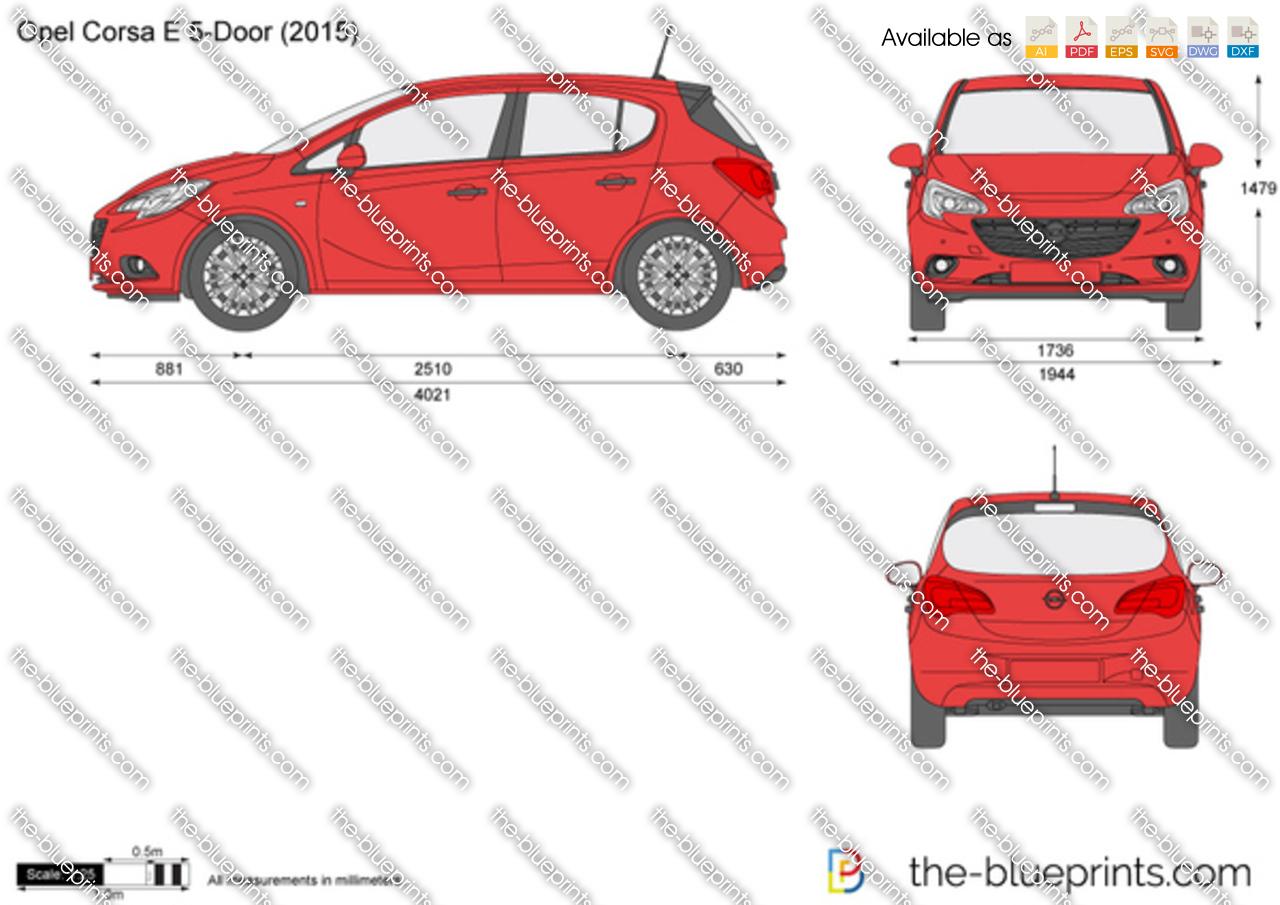 Opel Corsa E 5-Door 2016