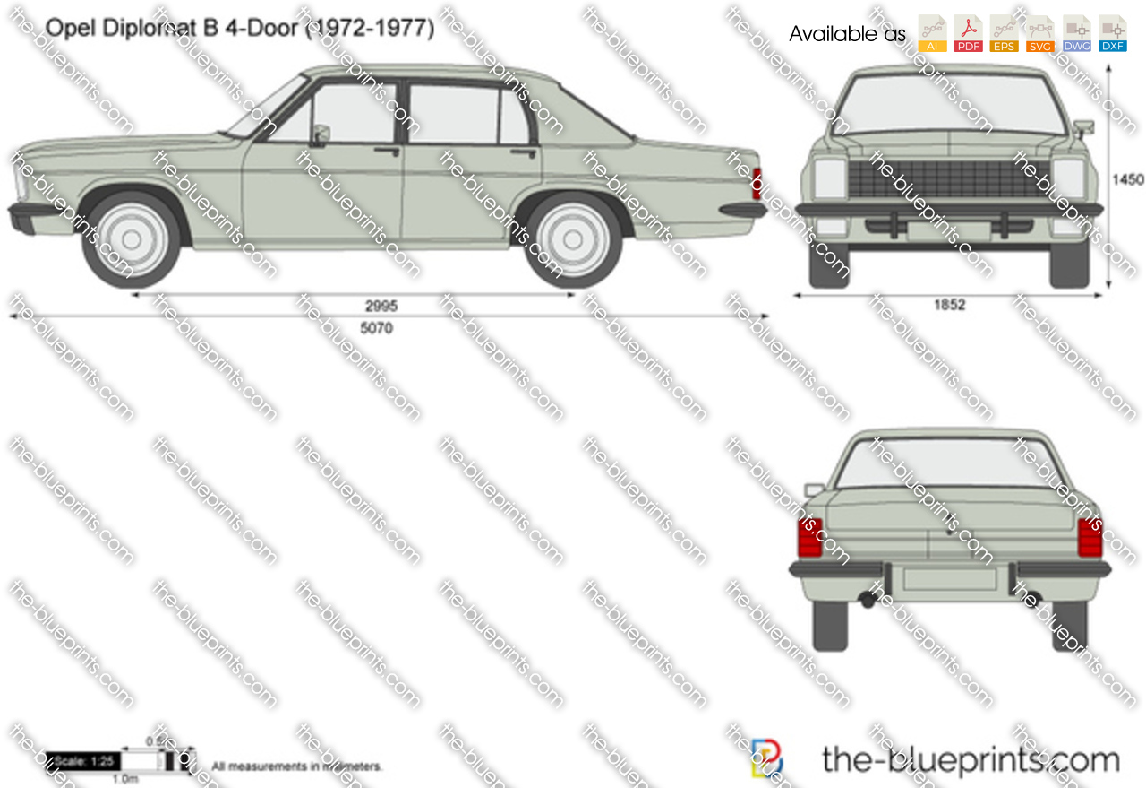 Opel Diplomat B 4-Door