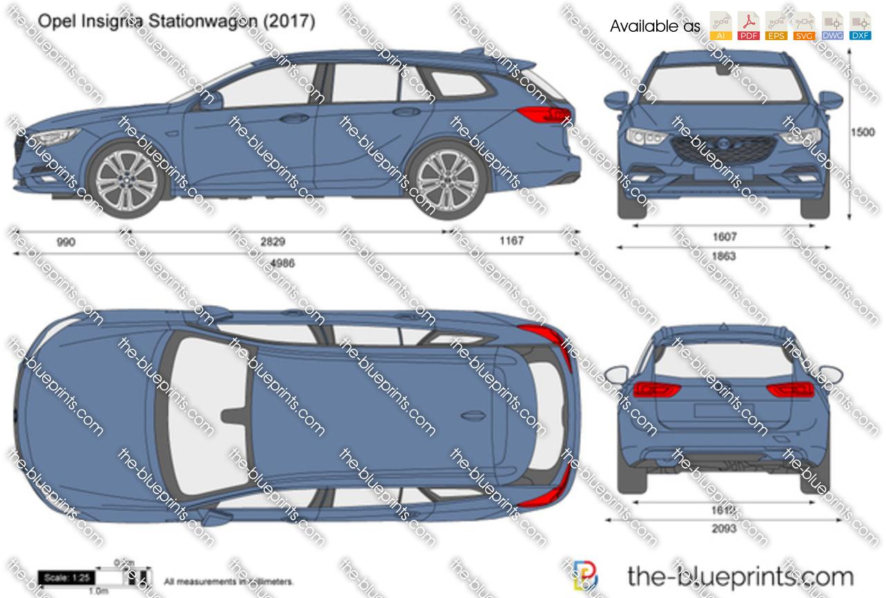 Opel Insignia Stationwagon 2018