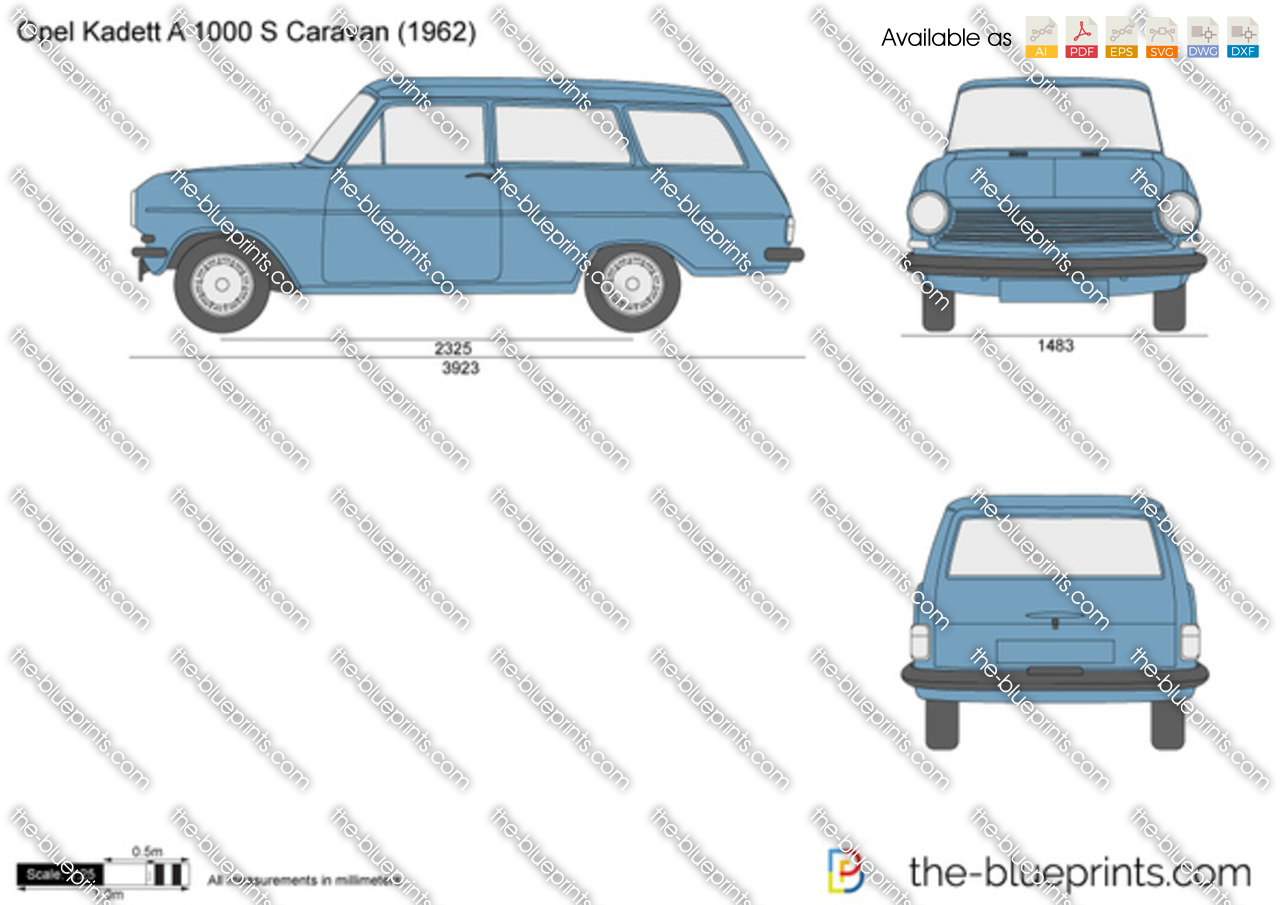 Opel Kadett A 1000 S Caravan