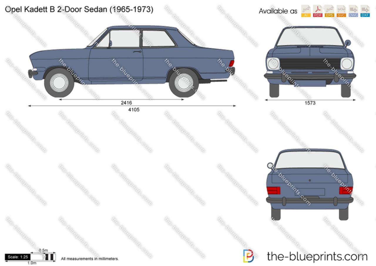 Opel Kadett B 2-Door Sedan