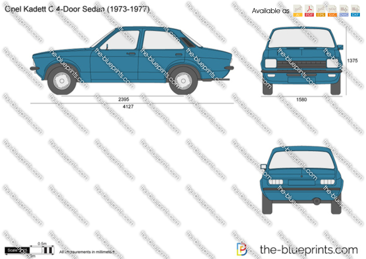 Opel Kadett C 4-Door Sedan