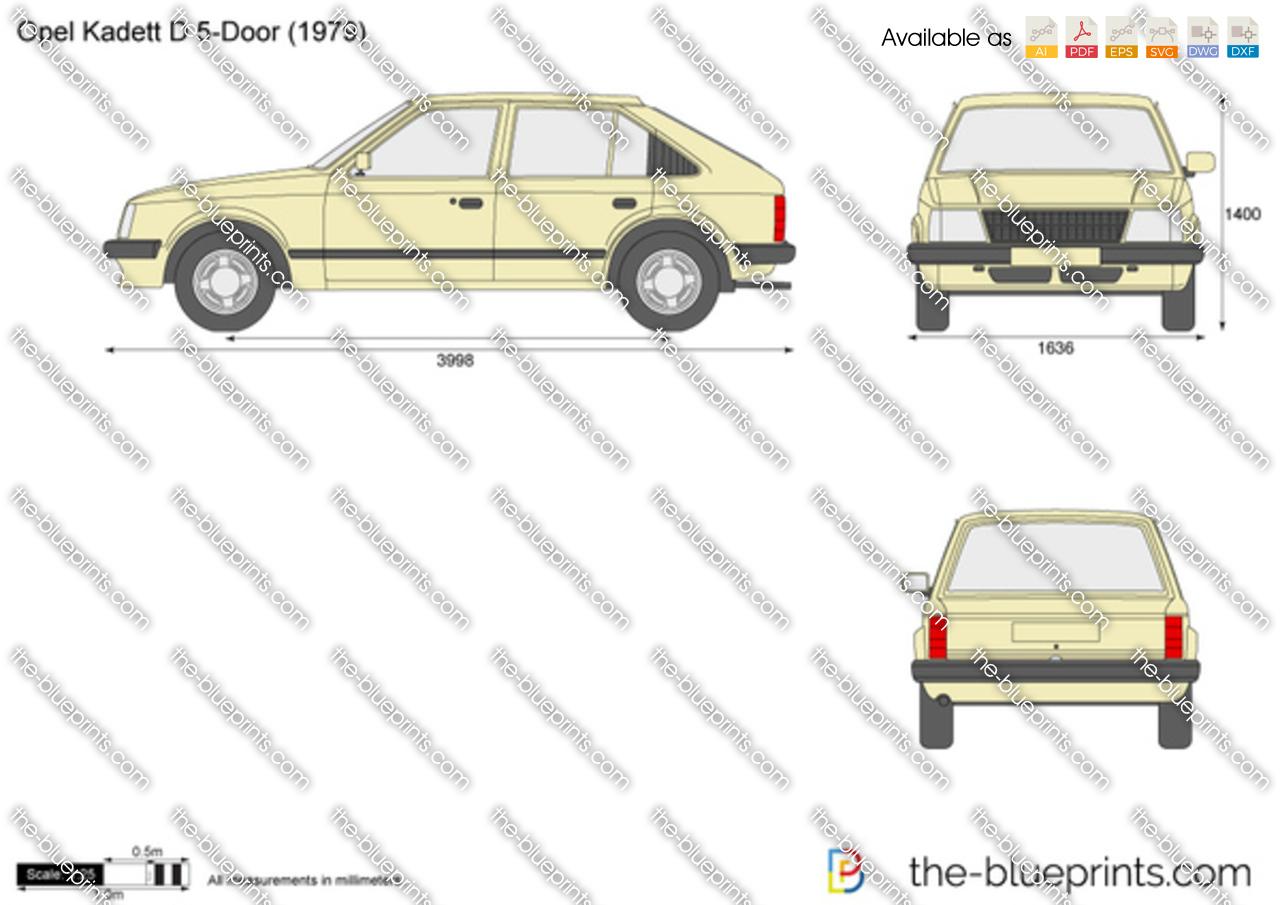 Opel Kadett D 5-Door