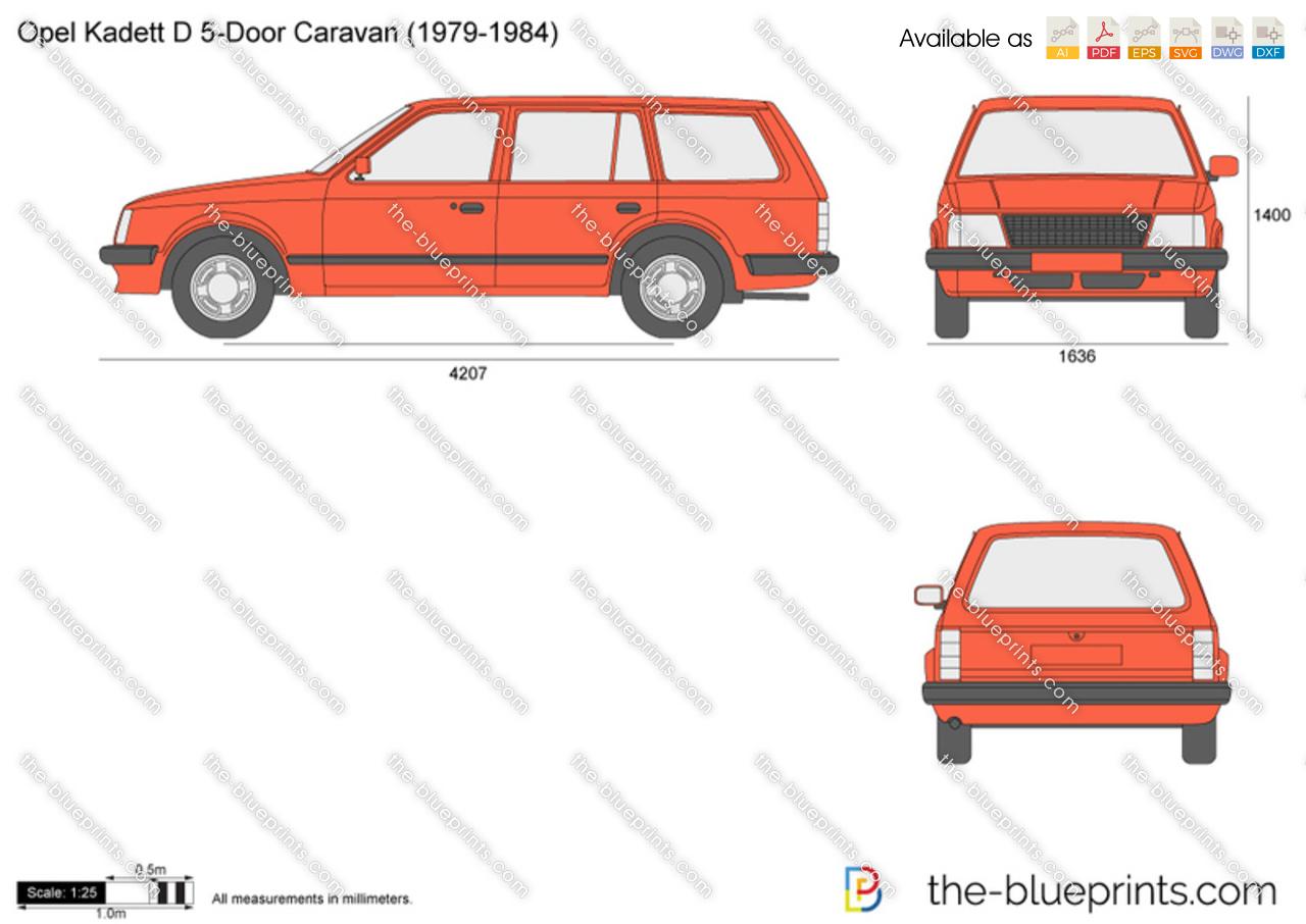 Opel Kadett D 5-Door Caravan