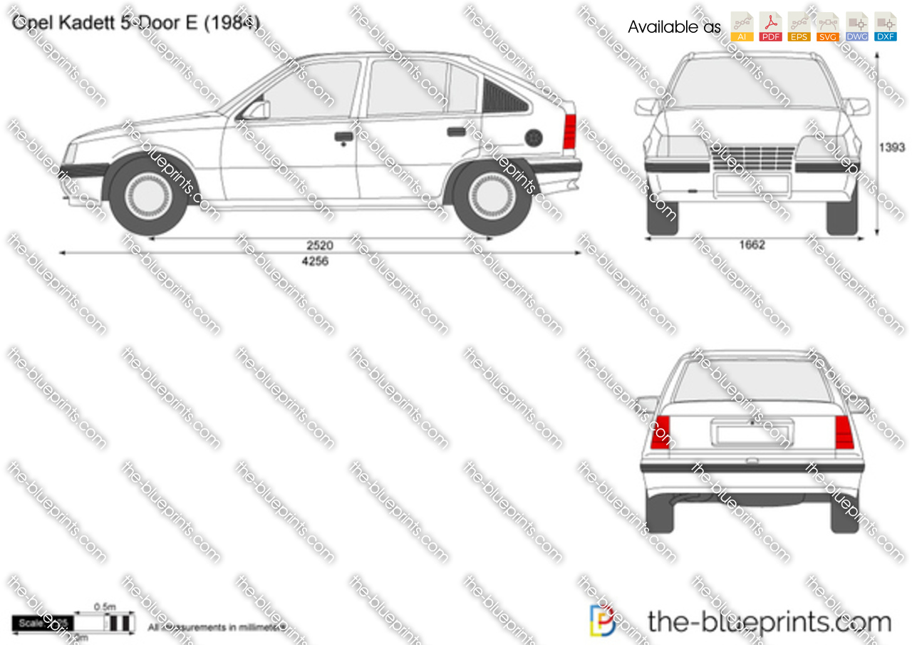 Opel Kadett E 5-Door