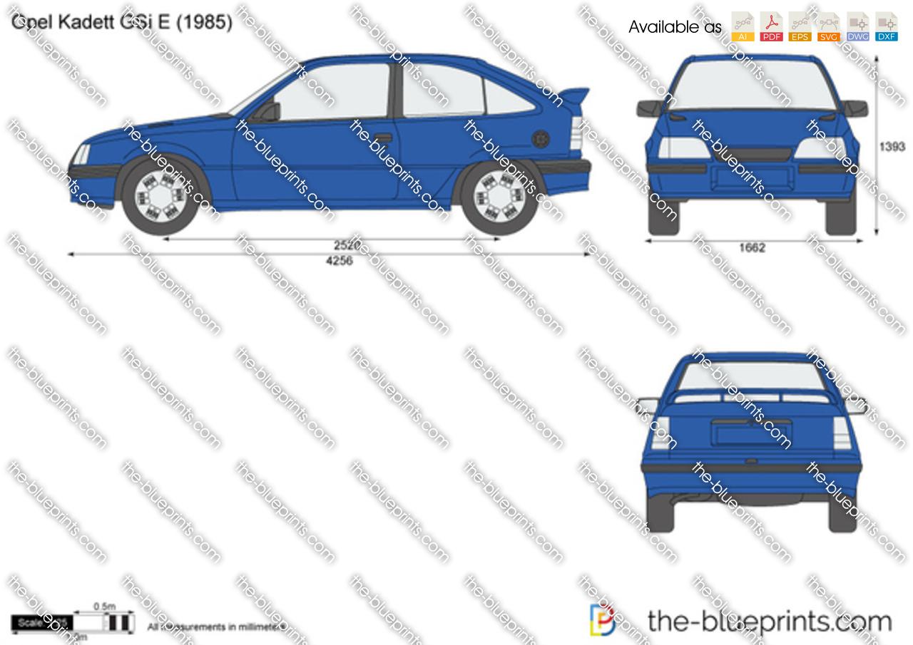 Opel Kadett GSi E
