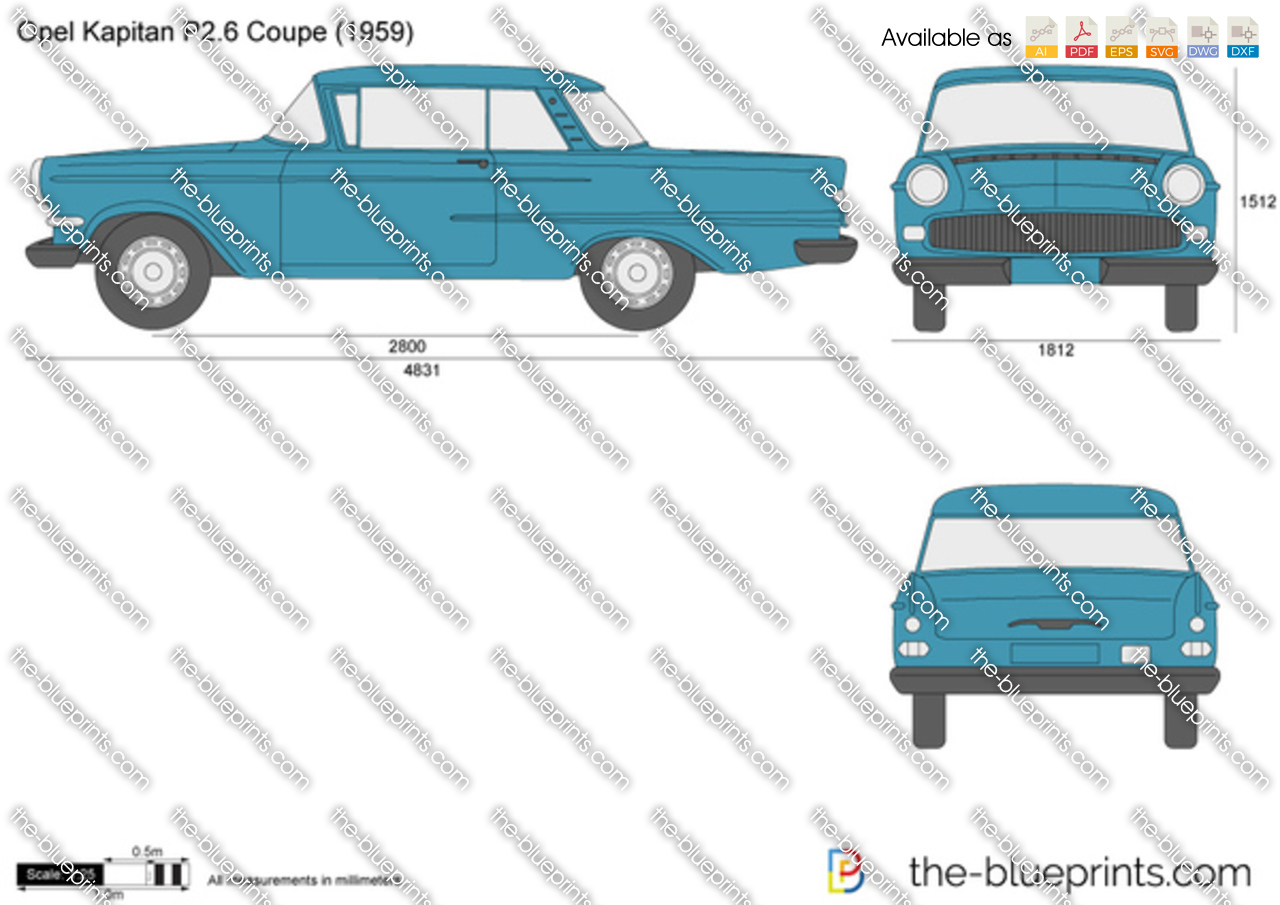 Opel Kapitan P2.6 Coupe