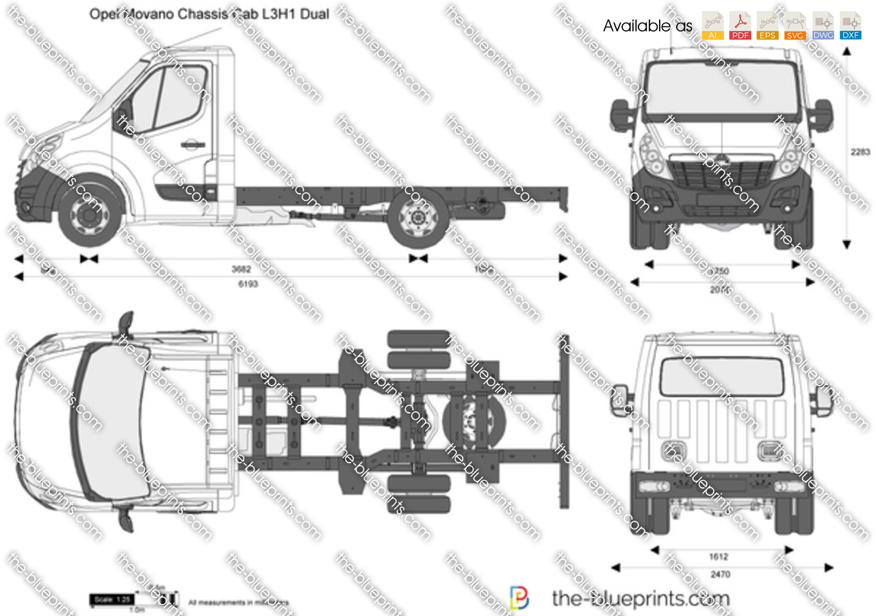 Opel Movano Chassis Cab L3H1 Dual