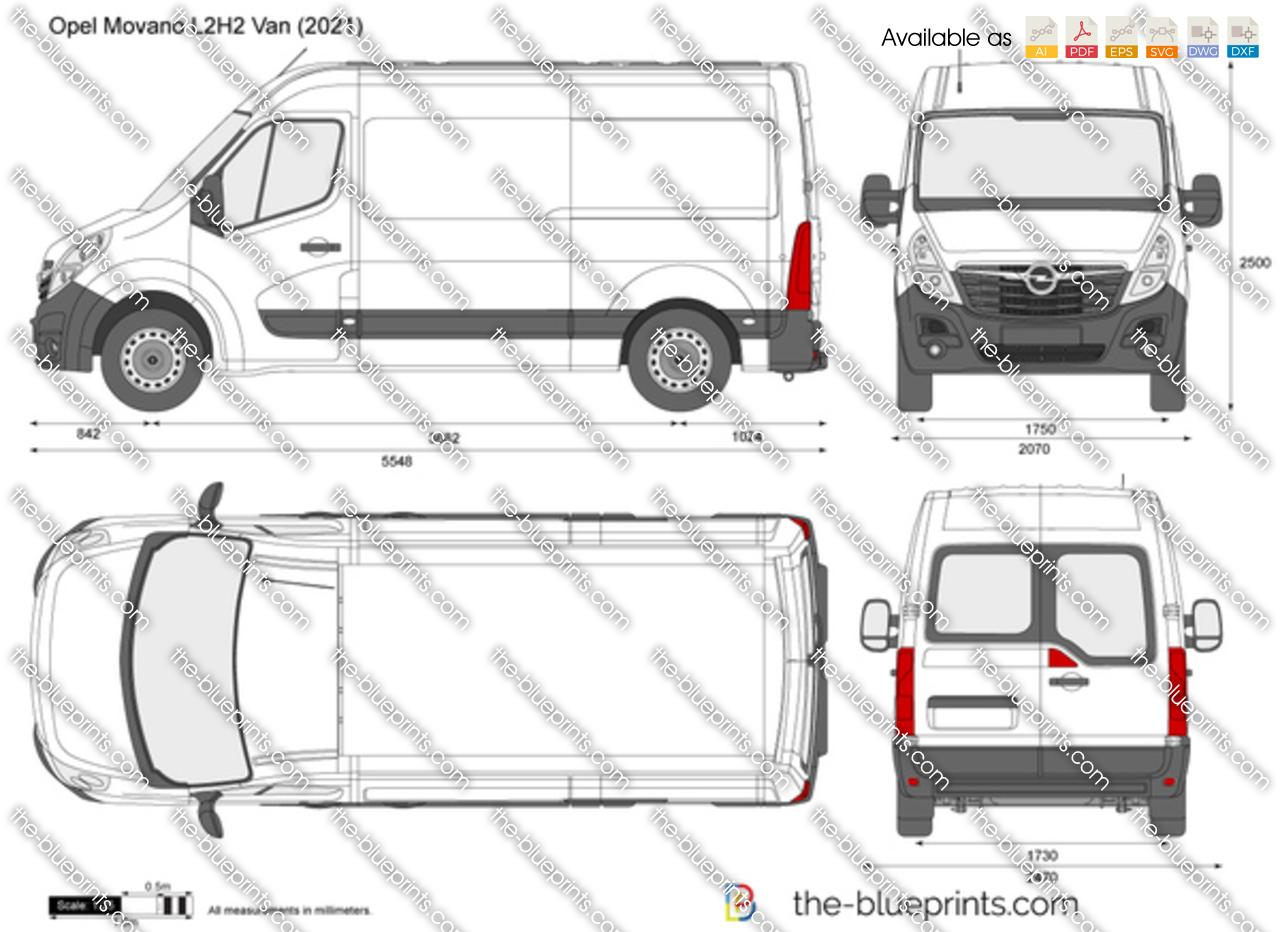 Opel Movano L2H2 Van