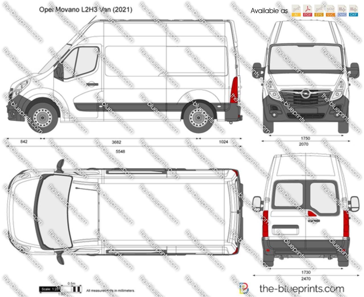 Opel Movano L2H3 Van