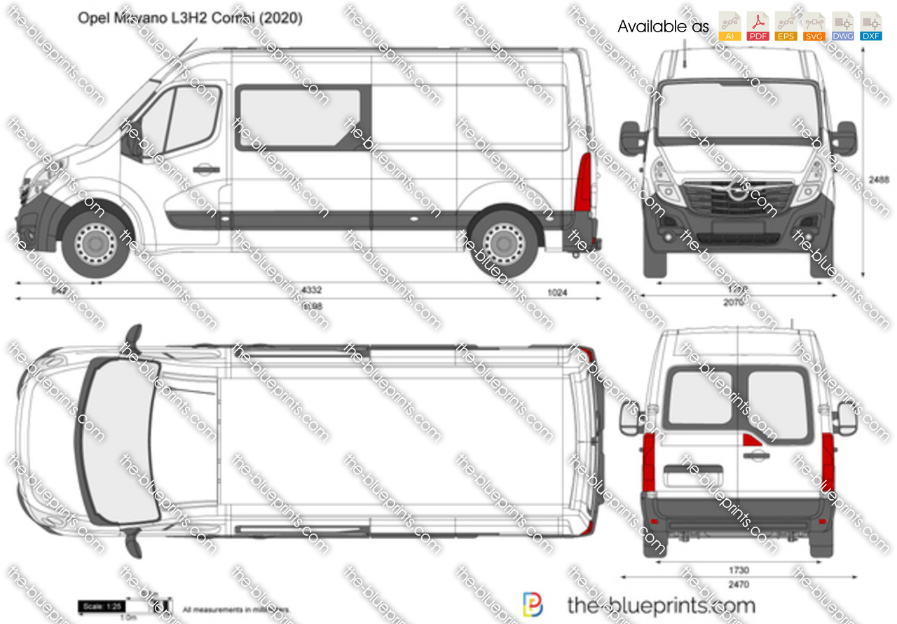 Opel Movano L3H2 Combi