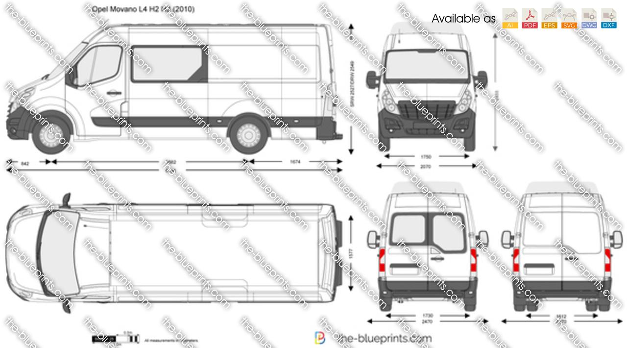 Opel Movano L4 H2 H3