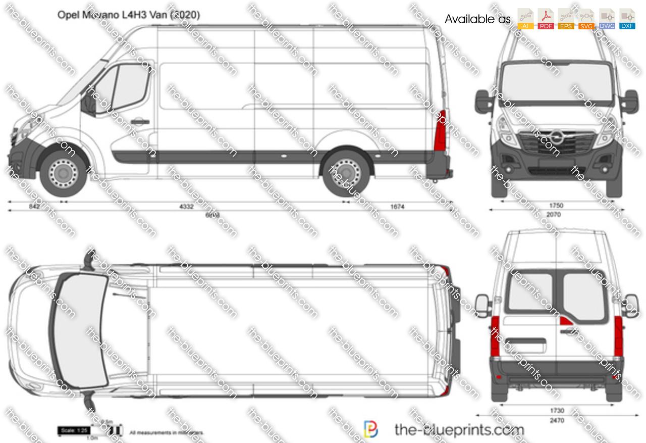 Opel Movano L4H3 Van
