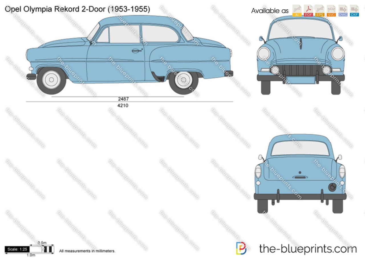 Opel Olympia Rekord 2-Door