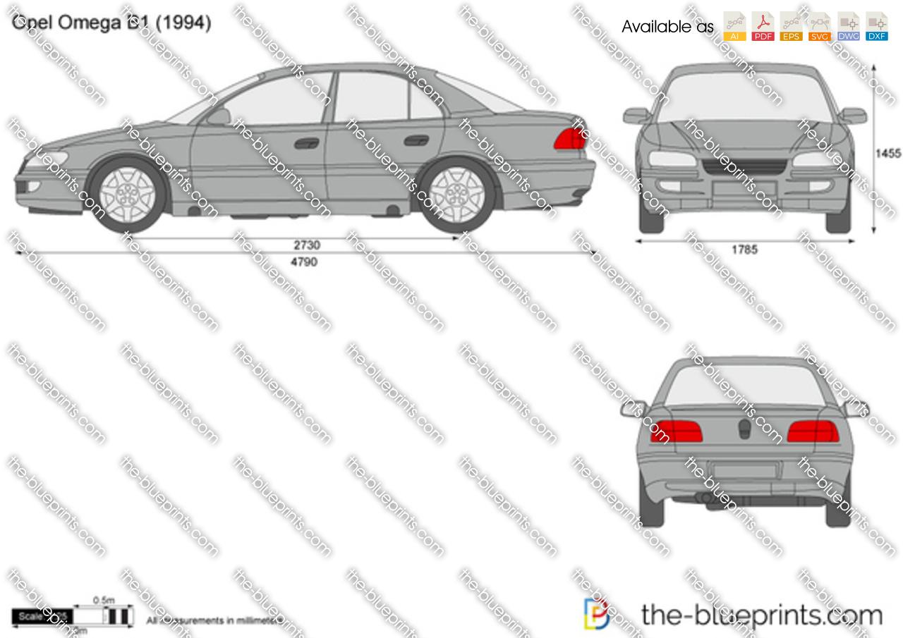 Opel Omega B1