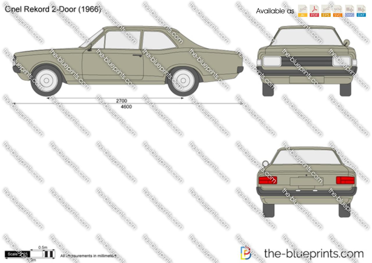 Opel Rekord 2-Door