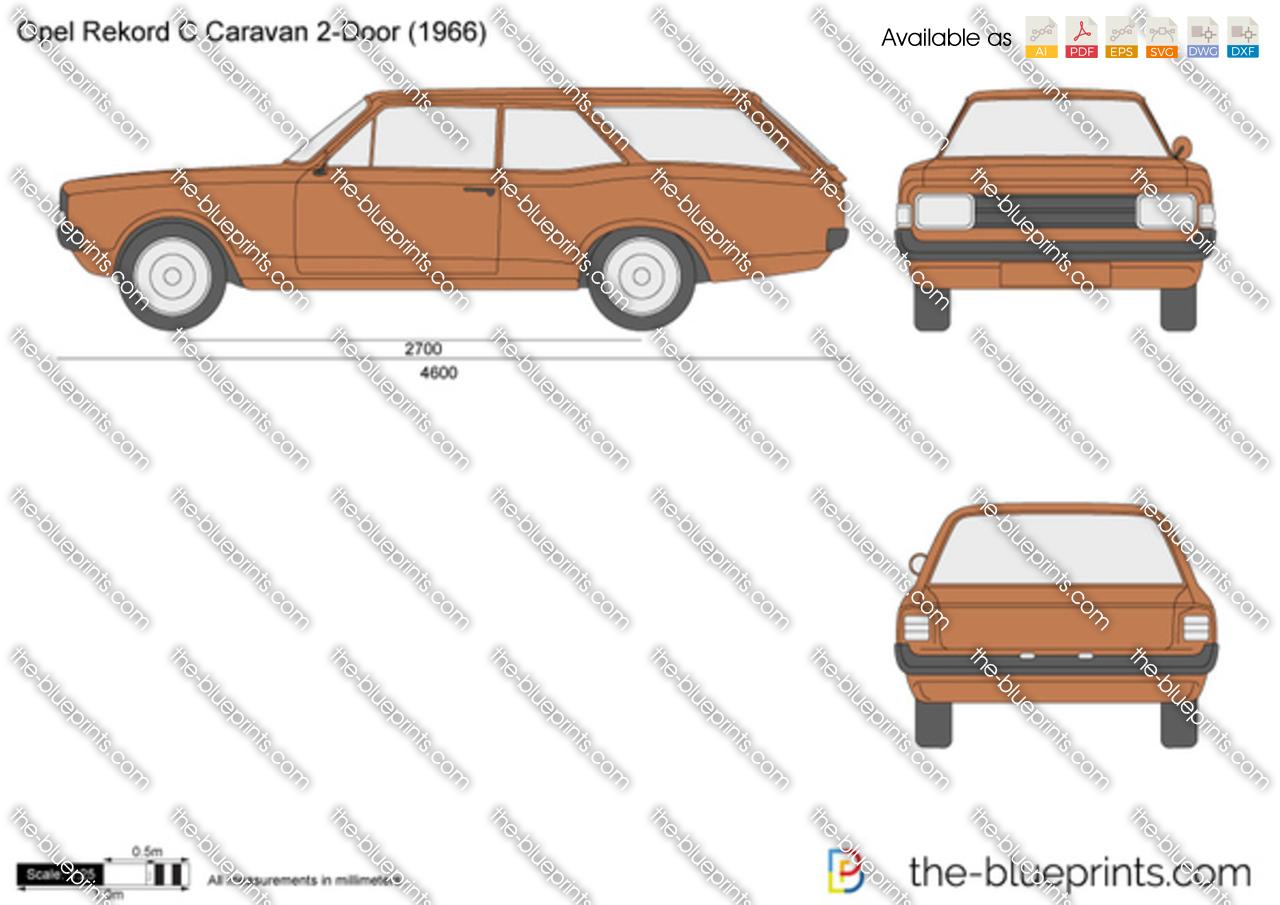 Opel Rekord C Caravan 2-Door