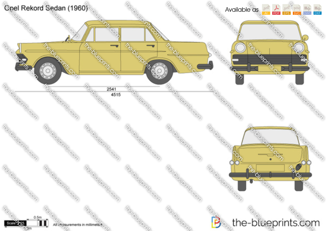 Opel Rekord Sedan