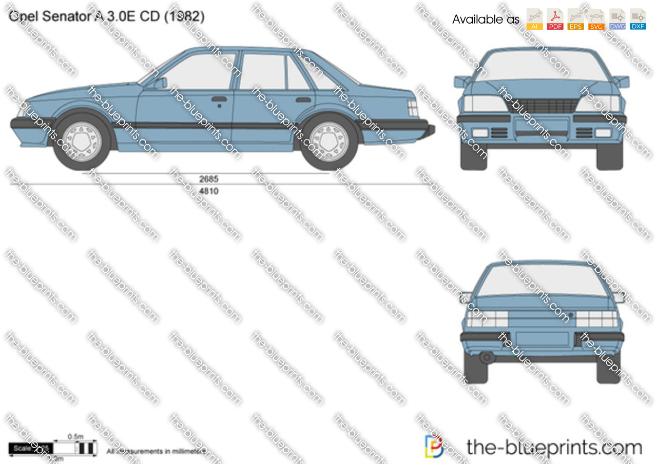 Opel Senator A 3.0E CD