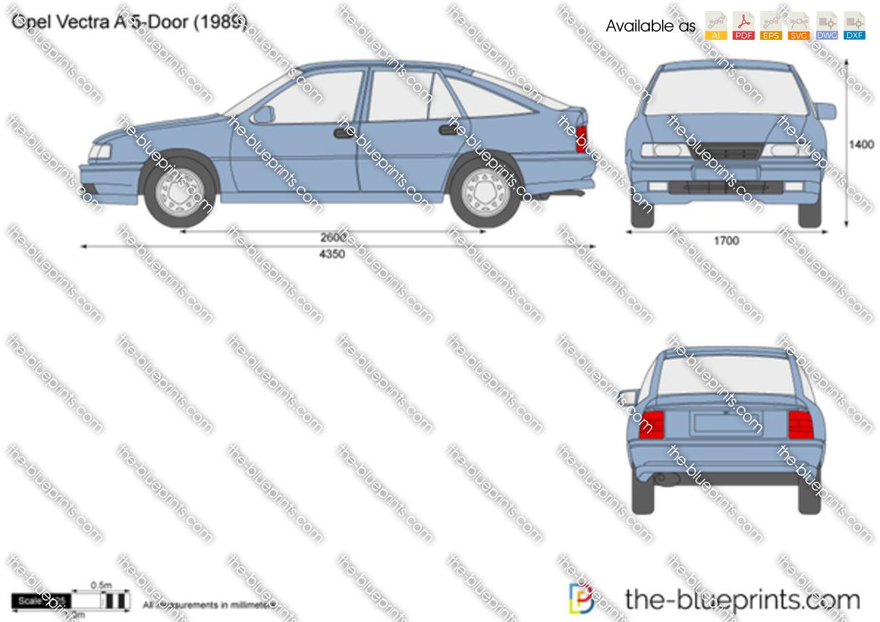 Opel Vectra A 5-Door