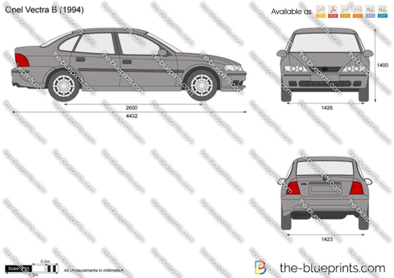 Opel Vectra B 1995