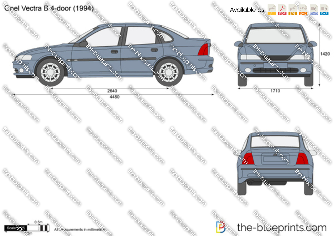 Opel Vectra B 4-door 1997