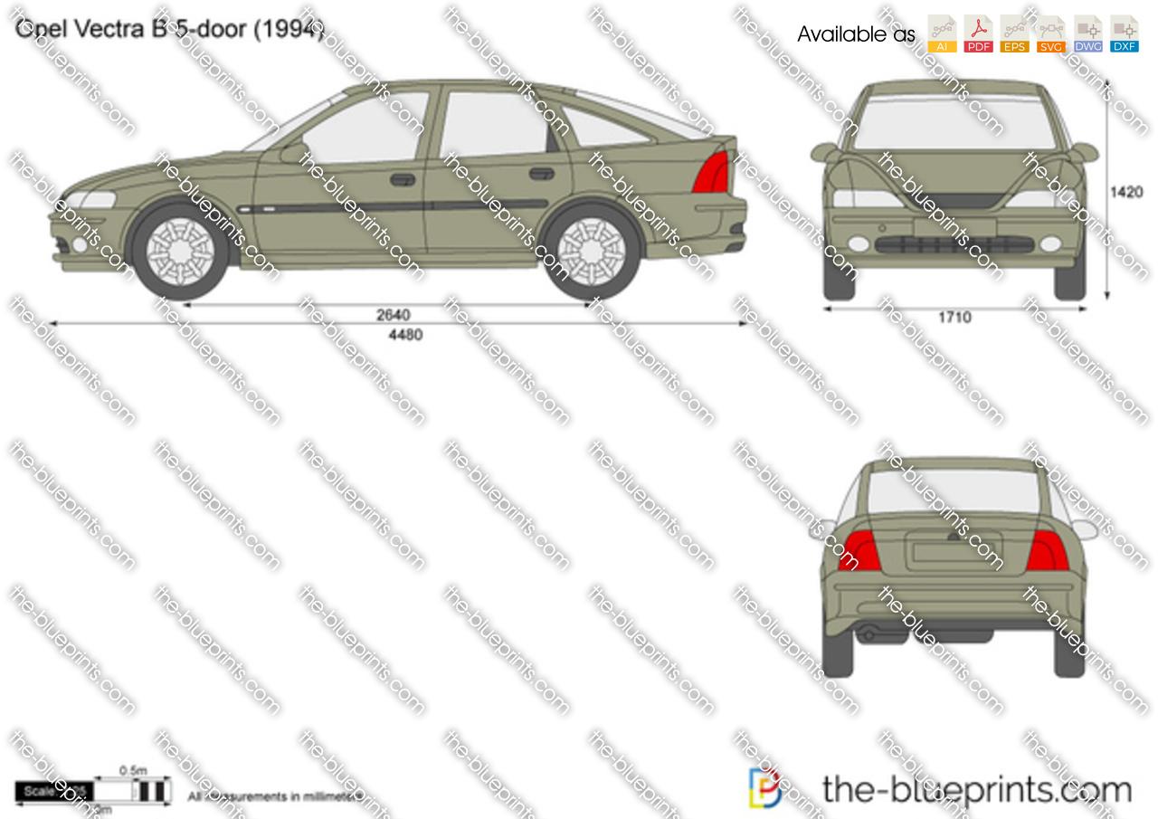 Opel Vectra B 5-door