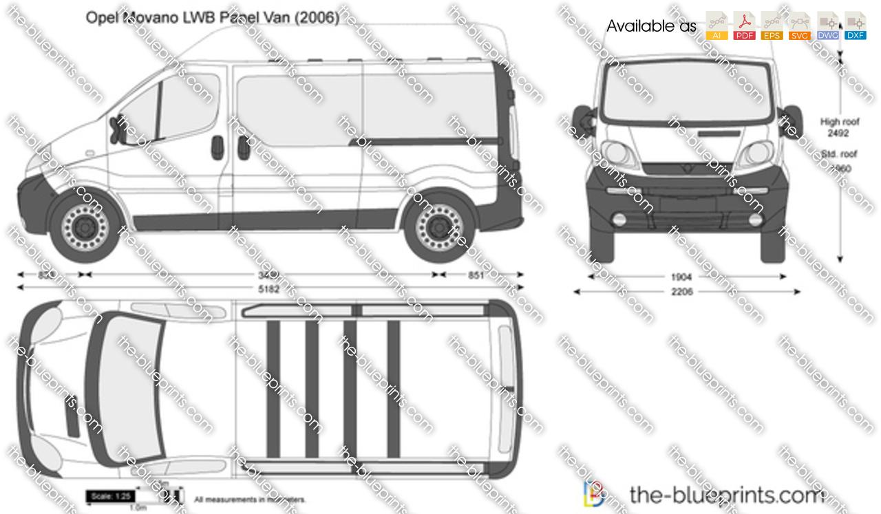 Opel Vivaro LWB Panel Van 2003