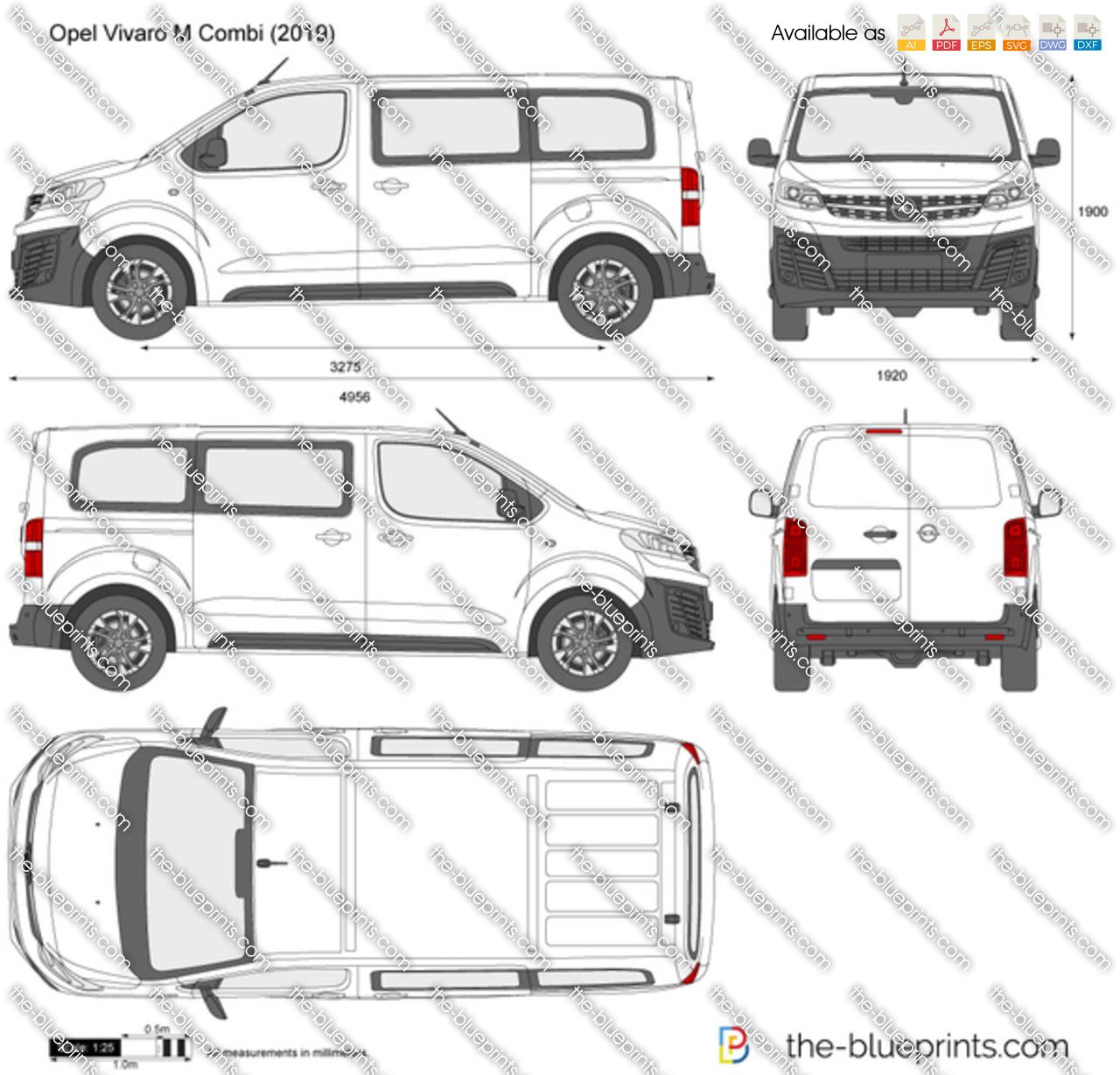Opel Vivaro M Combi